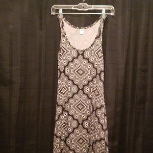 Old Navy Tribal Print Maxi Dress